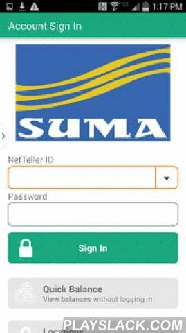 SUMA FCU Mobile  Android App - playslack.com ,  SUMA FCU Mobile is a mobile banking application that enables Credit Union members to use their smartphone to initiate transactions and conduct research anytime, from anywhere. Members can view account balances and transaction history, view account alerts, initiate account transfers and pay bills. SUMA FCU Mobile supports all account types including savings, checking, certificates of deposit, money markets, loans, and credit cards. SUMA FCU…