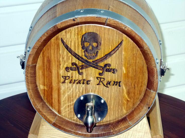 1639 - Serigrafia pirata su #botti bag in box per utilizzo in #pub, #bar, #ristoranti e #cantine - Briganti srl