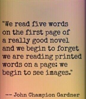 we read five words