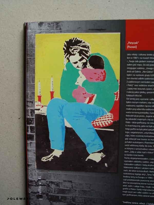 graffiti-w-PRL,-IPN,--Patyczak,-Matka-Boska-pankowska