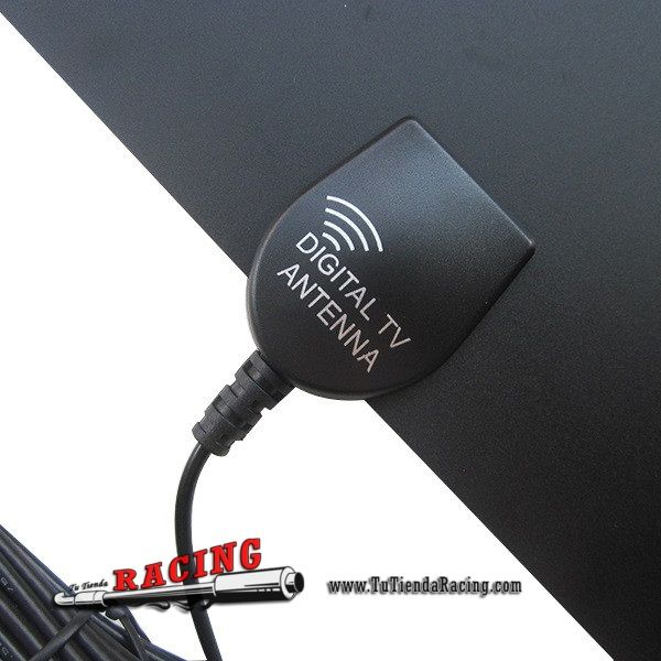 Antena de Señal Digital Ultra Fina ISDB ATSC DVB-T DVB-T2 HD TV para Coche Caravana - 26,53€ - TUTIENDARACING - ENVÍO GRATUITO EN TODAS TUS COMPRAS