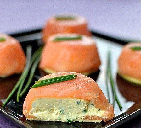 Самые вкусные рецепты: Закуска из лосося и сыра