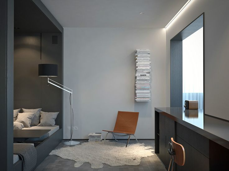 Маленькая квартира студия: 4 проекта со смешанным зонированием