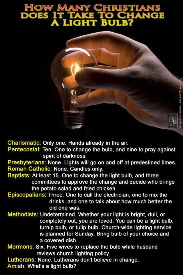 Best Light Bulb Jokes