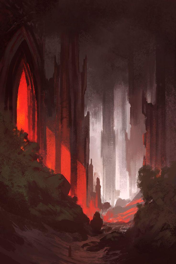 Noah-bradley_gothic-sketch