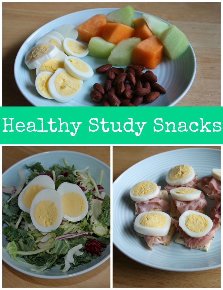 Fight the freshman 15lbs and eat these healthy study snacks instead!