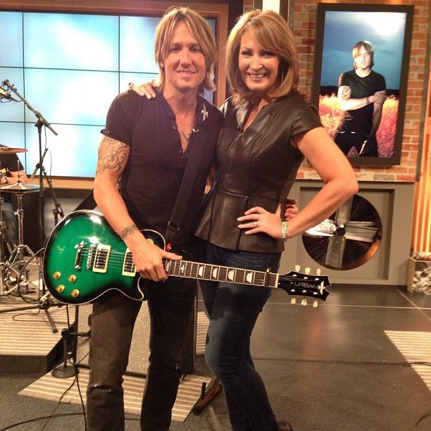 Colleen Lopez on HSN with Keith Urban