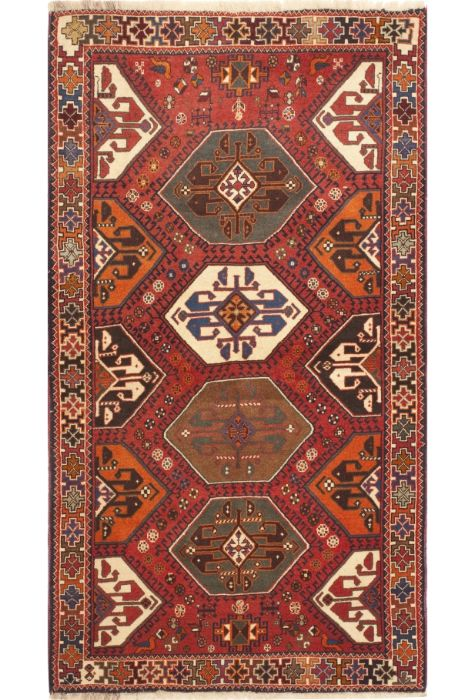 Abadeh Persian rug. Wool. Hand Knotted. 107 x 198 http://www.rugman.com/persian-abadeh-design-oriental-area-rug-small-size-wool-red-rectangle-100-10513