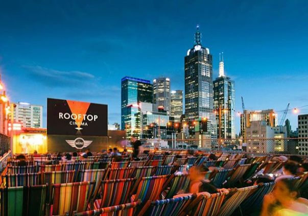 Rooftop Cinema at Rooftop Bar, Melbourne - Australia