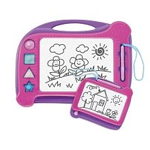 Imaginarium Twin Pack Magnetic Drawing Board - Pink