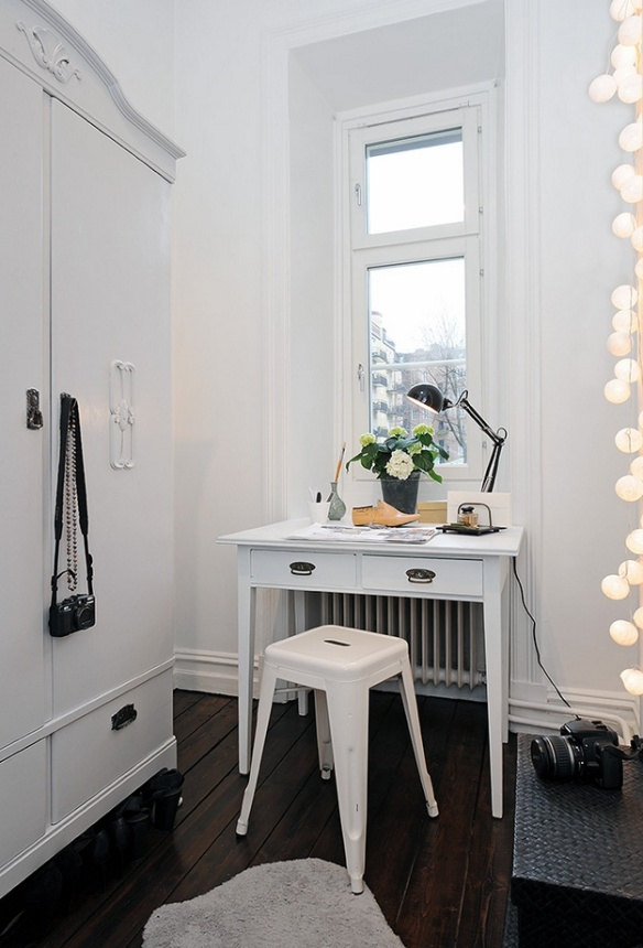 inspiration | cotton ball lights