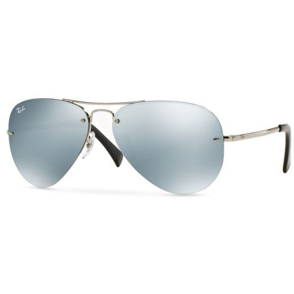Ray-Ban Green Flash Mirror Aviator 59-Mm. Sunglasses (9.865 RUB) ❤ liked on Polyvore featuring accessories, eyewear, sunglasses, green, mirrored aviators, green lens sunglasses, ray ban glasses, mirrored sunglasses and ray ban sunglasses