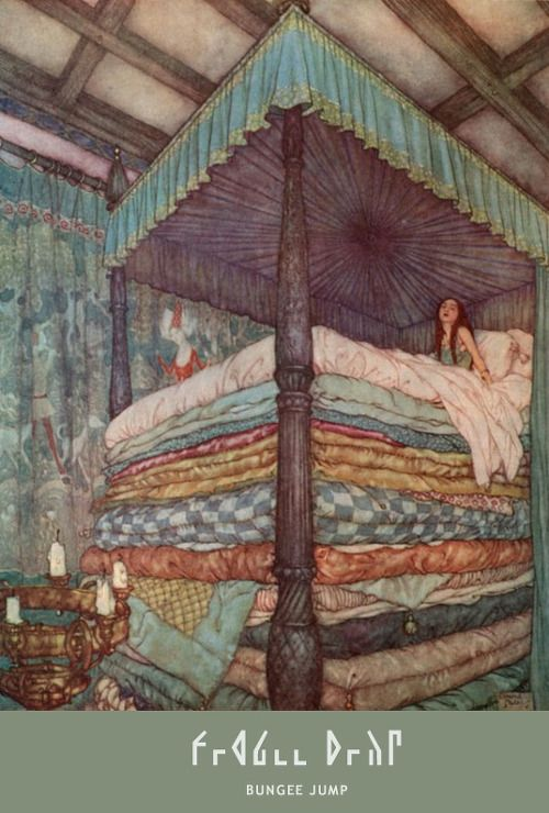 bed, fairy, illustration | http://Godgul.com
