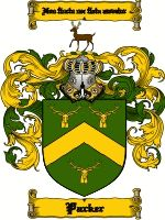 Parker Coat of Arms / Parker Family Crest  The surname of PARKER was an occupational name 'the parker' the guardian or keeper of the park. I...
