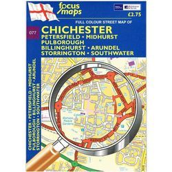 New Listing Started Chichester: Full Colour Street Map (Folded) £0.40
