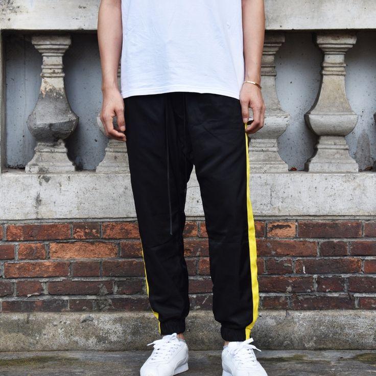 Kenye West Men Joggers Fear of God movement pants biker Loose Trousers Justin Bieber Street Full Length Casual Pant Cooo Coll