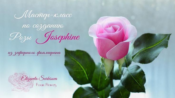 МК Роза ''Josephine''.  Автор Елизавета Саркисова
