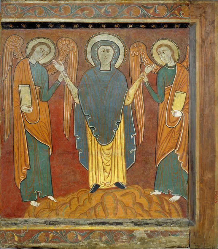 Lateral dret de Sant Romà de Vila 1er tiers XIII http://www.museunacional.cat/ca/colleccio/lateral-dret-de-sant-roma-de-vila/anonim-catalunya-taller-de-la-seu-durgell-del-1200/015875-003