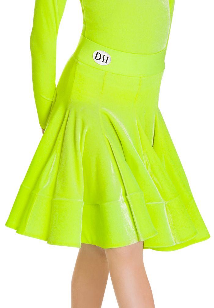 DSI Georgia Juvenile Skirt   Dancesport Fashion @ DanceShopper.com