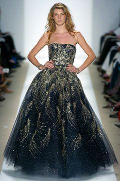 Oscar De La Renta Gowns Black | placed an order for a ysl silk chiffon lip print dress the gown