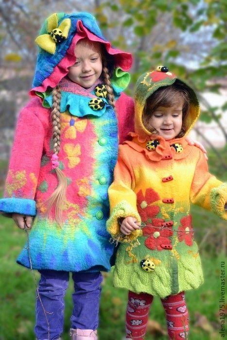 úžasné dětské kabátky