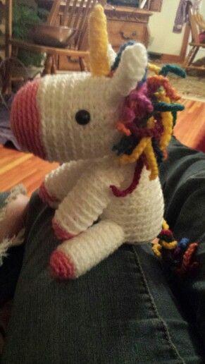 Jabby the baby unicorn :)