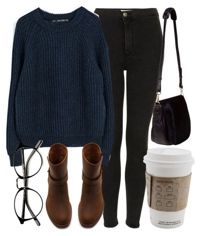 """Untitled #4249"" by laurenmboot ❤ liked on Polyvore featuring Topshop, Zara, Madewell and Nomadic"
