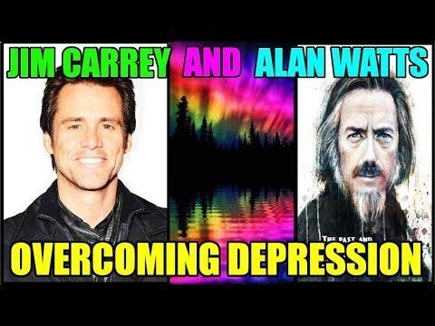 Alan Watts And Jim Carrey - OUR TRUE NATURE - A Cure For Depression - Ov...