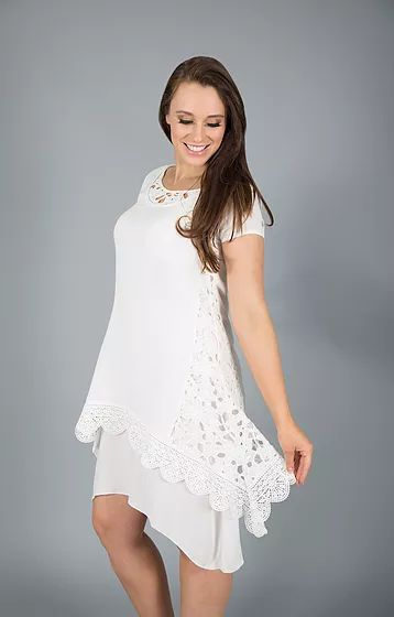 Cool Lacey Summer Dress by Black Plum. #summer #fashion #dress #lace #pretty #style