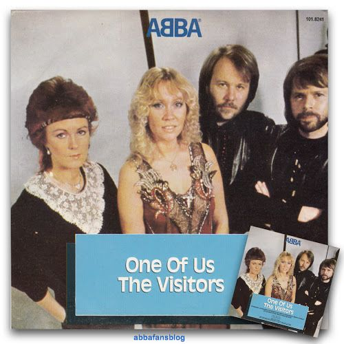 """The picture below shows Abba's single """"One Of Us"""" as released in Brazil... #Abba #Agnetha #Frida #Vinyl #Brazil http://abbafansblog.blogspot.co.uk/2016/12/abba-single-from-brazil.html"""