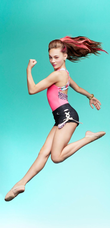 Maddie ziegler nude Dance Moms' Maddie Ziegler turns model in the shiny new campaign for the  Capezio x