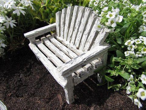 Fairy Love Seat: Fairy Garden