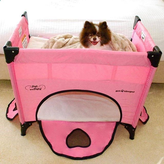 Dog Playpen - Does your husband not want the #dog on the #bed? We have a solution! With the #pet sleeper, your dog can still be right next to you at arm's reach while you #sleep! Do I hear a recipe for a #Happy #Family?! #Win-Win! #pets #petbed #lounger #kennel #groomingstation #playpen #bunkbed #playtime #cute #awesome #dogs #cats #cat #dogstagram #dogsofinstagram #petstagram #petsofinstagram #petsleeper #love #animals #petandpetsinc