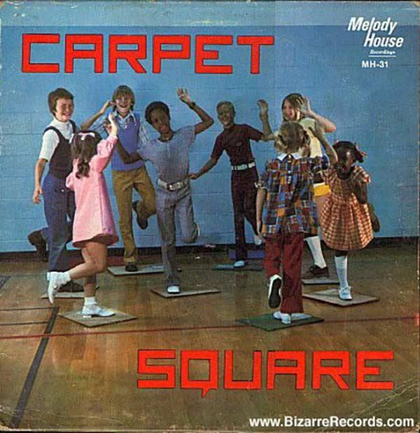 Wee! Carpet! Entertainment for Underprivileged Children ~~ Funny Bad Album Covers