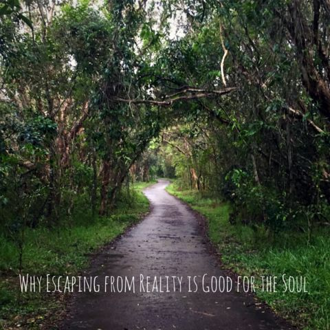 Why Escaping from Reality is Good for the Soul.  Last week we went on a small family holiday to the beach. We had nothing planned just relaxing. Sounds wonderful, right? Right!