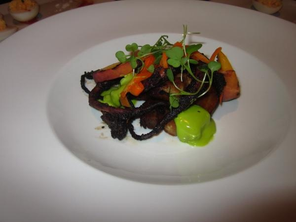 Pork Belly and Octopus | A photo of The Bedford