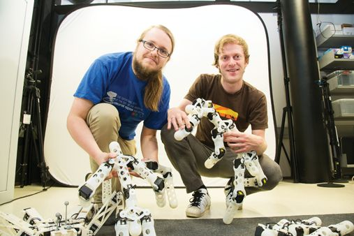 """""""Norwegian Robotics Team Designs 3D Printed, Self-Learning Robots"""" - 12/11/14  Talk about artificial evolution! Soon it's gonna be natural revolution!"""