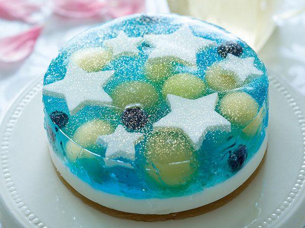 満天の星空を閉じ込めた<リーポール>「ラピスゼリーケーキ」