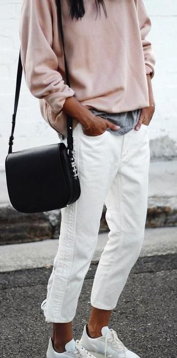 25  best ideas about White jeans on Pinterest | Women's nautical ...