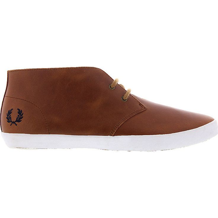 [NEU] Fred Perry Byron Mid Leather Herrenschuhe Sneaker Braun in Vêtements, accessoires, Hommes: chaussures, Baskets | eBay