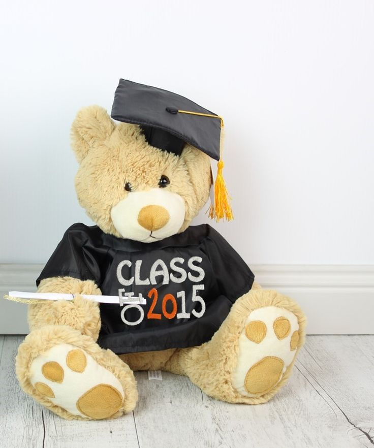 The perfect gift to congratulate that special person on his/hers GRADUATION. Personalise our GRADUATION MOJO teddy bear.