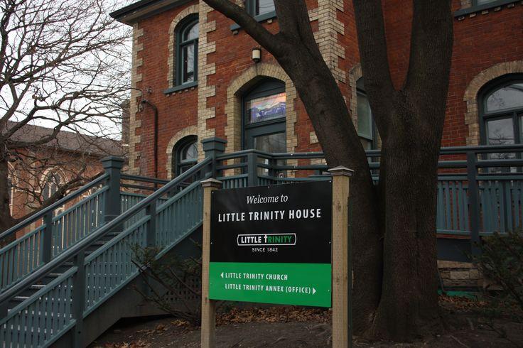 Little Trinity House, downtown Toronto.