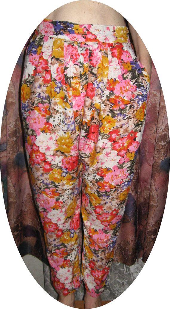 Винтажные  женские летние брюки. от VIRTTARHAR на Etsy