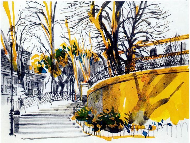 André Carrilho. Jardim Augusto Gil, Graça. Lisboa. Portugal