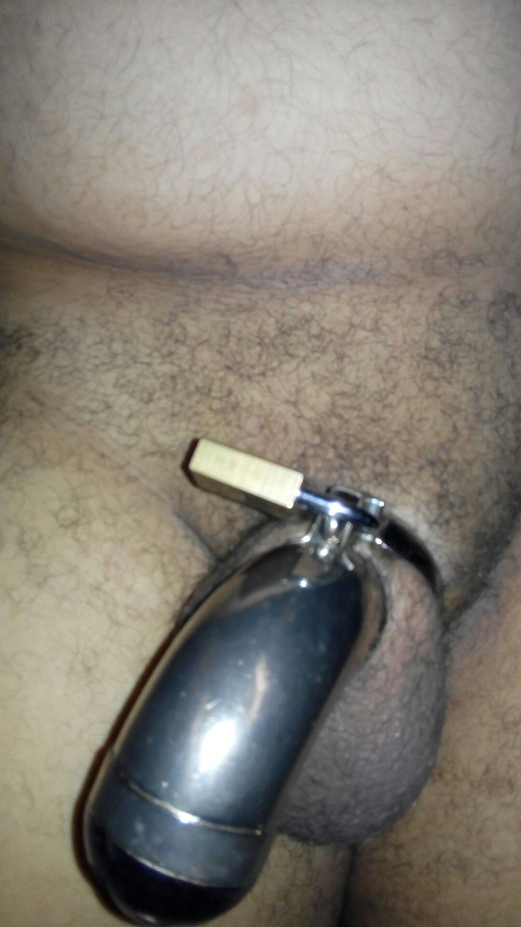 first Chastity cage that I didn't have the key's