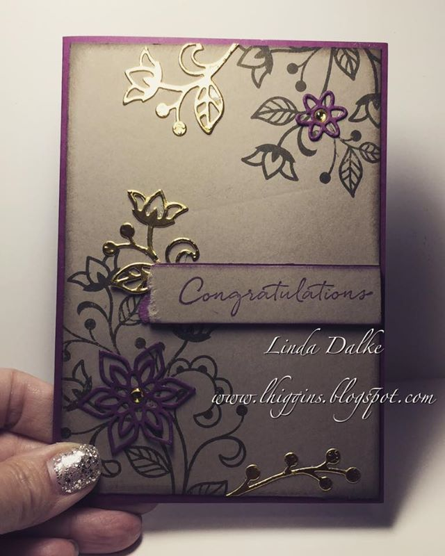 Linda Higgins: The set I HAD to have... Flourishing Phrases from Stampin'Up!