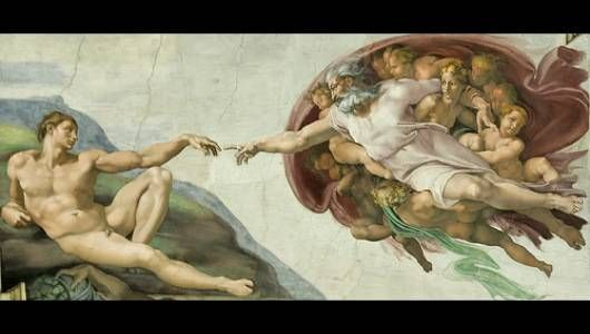 """The Sistine Chapel ceiling has been a """"Where's Waldo"""" of sorts for analysts to find hidden themes and images in Michelangelo's work. According to the NY Times,"""
