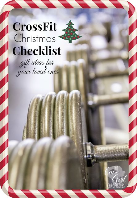 CrossFit Christmas Checklist - Gift Ideas for Crossfitters