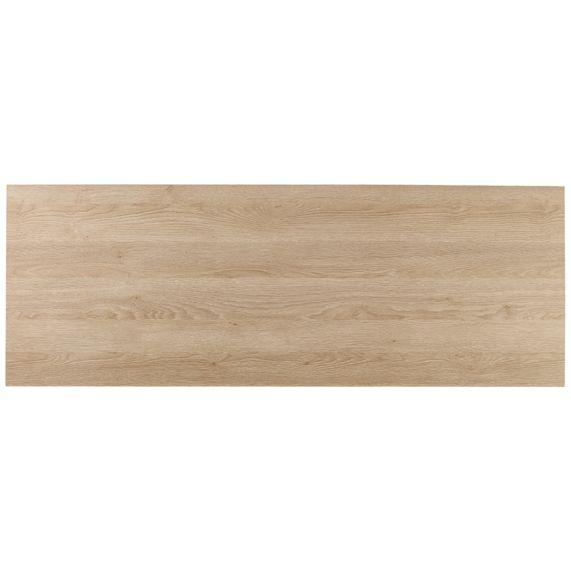 Slant 1800 bath side panel - oak | bathstore