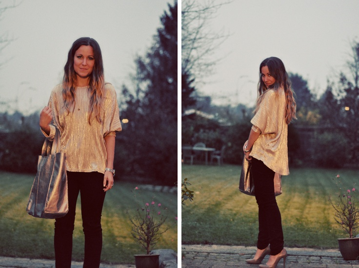 Look of the day. Silver at dusk. emilysalomon.dk